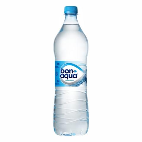 Вода питьевая BONAQUA б/газа 1 л пл/б КАЗАХСТАН