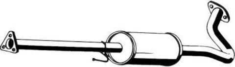 глушитель Honda HR-V 1.6i 16V 4X2 + 4X4 09/98-09/05 (3 doors)