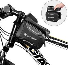 Велосумка для смартфона West Biking с боковыми отделениями - 2