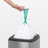 Прямоугольный мусорный бак Touch Bin (25 л), артикул 384929, производитель - Brabantia, фото 5
