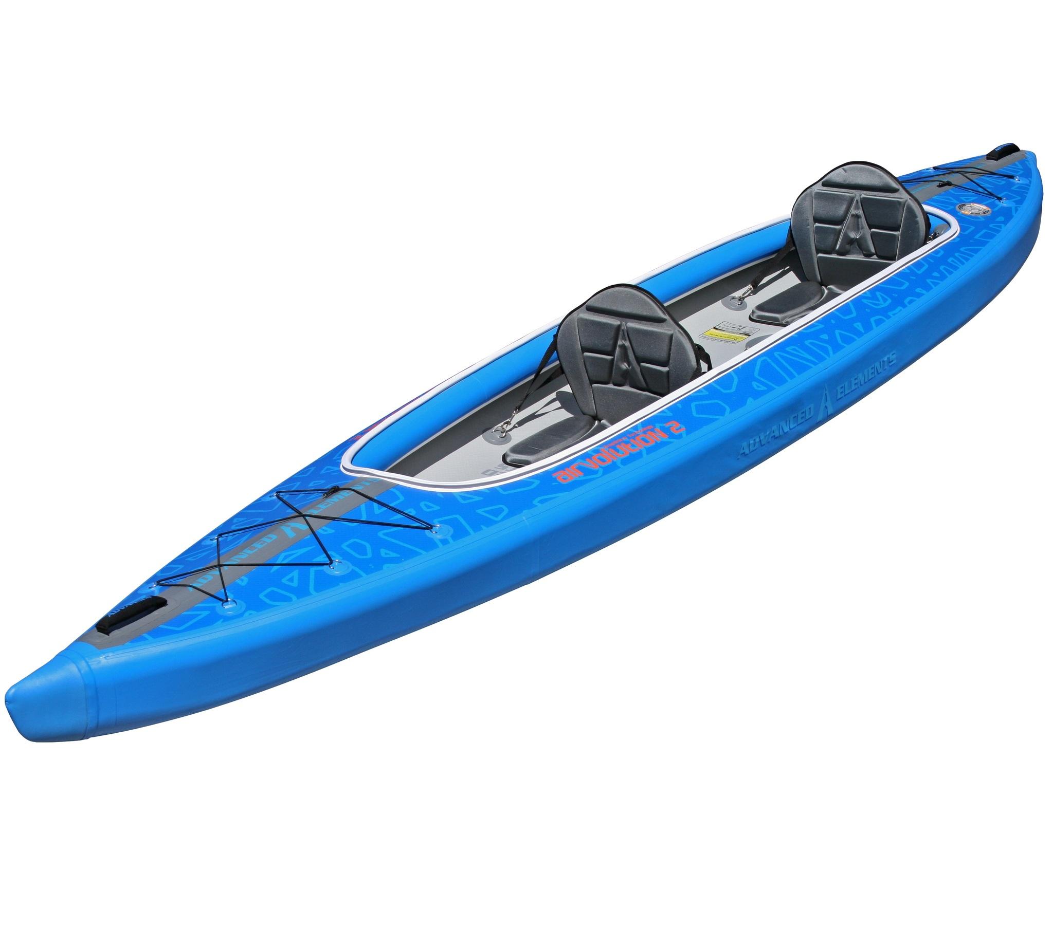 Recreational Airvolution inflatable kayaks