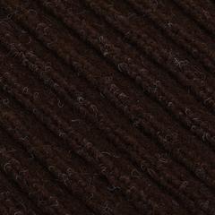 Коврик влаговпитывающий, ребристый, коричневый, 40*60 см