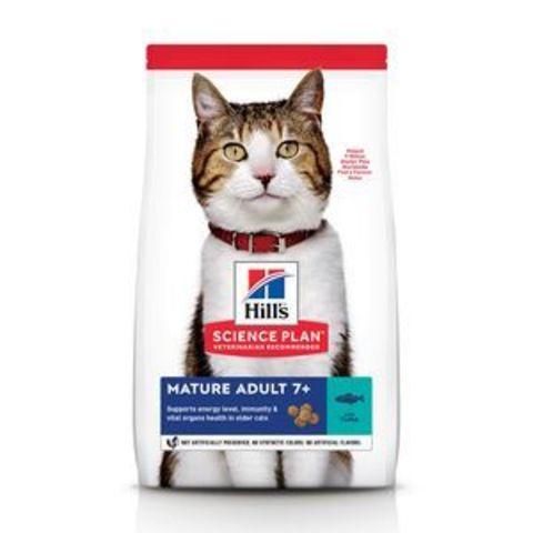 8770 ХИЛЛc Корм сух.д/пожилых кошек Тунец 1,5 кг*6