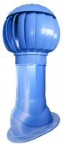 Выход вентиляционный ERA VWO D125/160 Blue изолированный для нанодефлектора, пластик