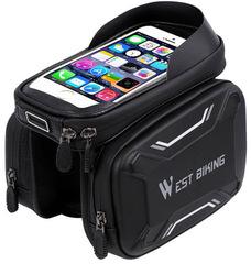 Велосумка для смартфона West Biking с боковыми отделениями