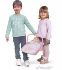 DeCuevas Переноска-стульчик для куклы, серия Фантазия океана 39 см (51341)