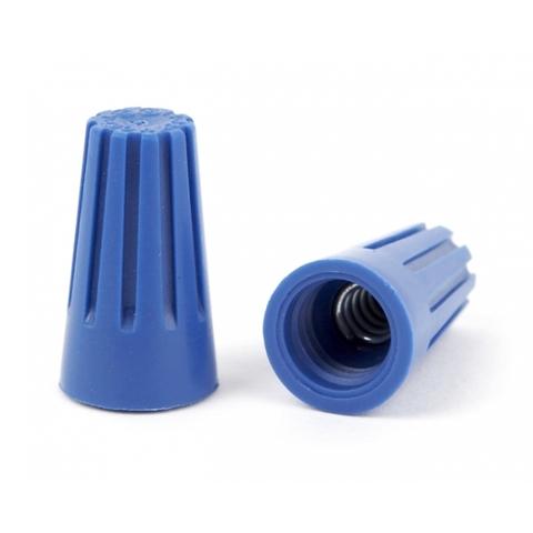 Соединительный изолирующий зажим СИЗ-2 4,5 мм2 синий (5 шт) TDM