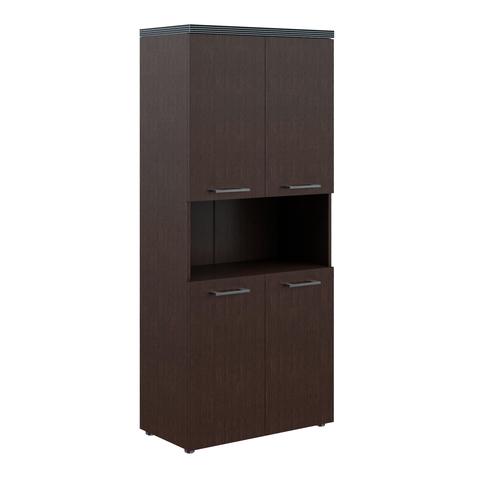 THC 85.4 Шкаф с 2-мя комплектами глухих малых дверей и топом (850х430х1930)