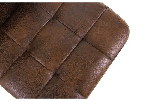 Барный стул Paskal vintage brown 43*43*89 Окрашенный металл /Коричневый