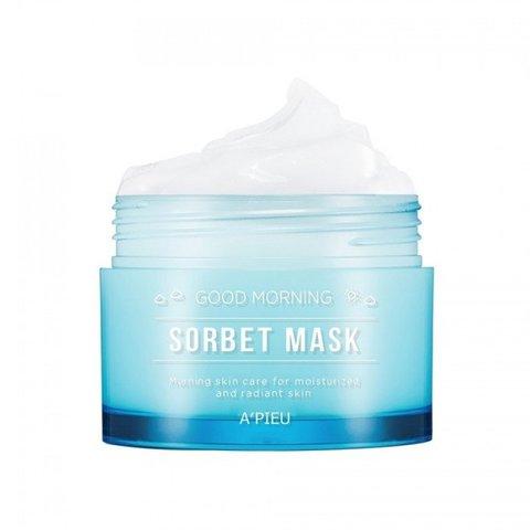 A'PIEU Маска-сорбет утренняя увлажняющая Good Morning Sorbet Mask 100 мл