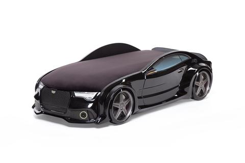 Объемная (3d) кровать-машина NEO AUDI черная