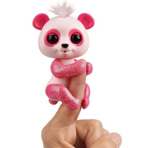Фингерлингс розовая интерактивная панда Полли