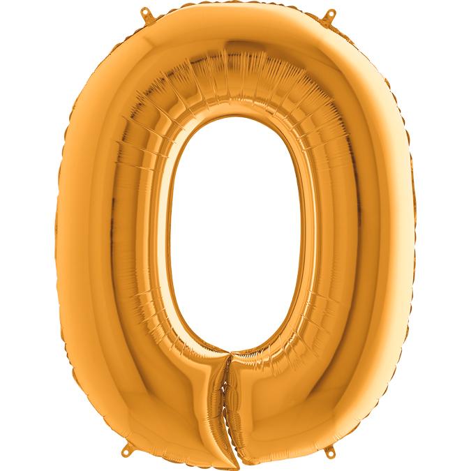 Золотая цифра 0