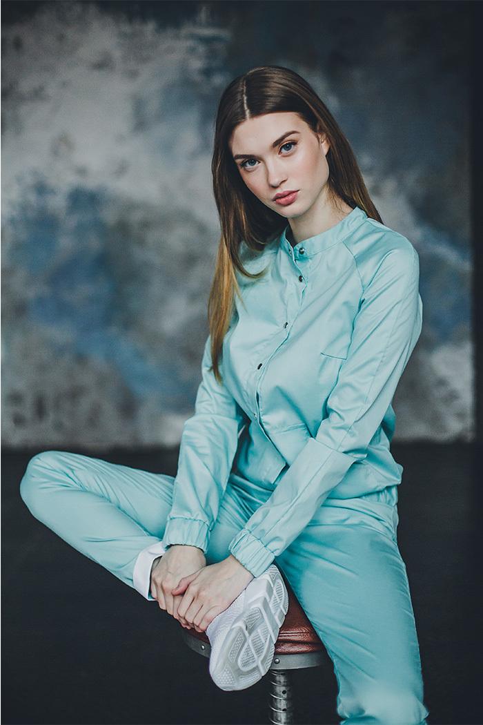 Блуза женская медицинская М 275