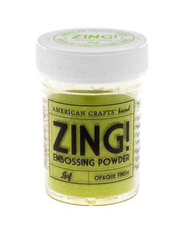 Пудра для эмбоссинга ZING! Leaf