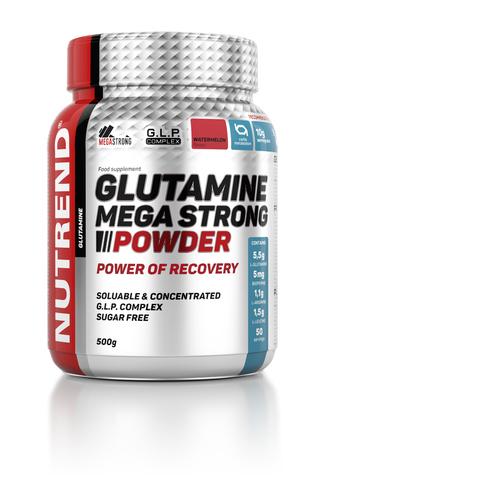 Nutrend Глютамин Мега стронг 500г/GLUTAMINE MEGA STRONG 500g (Арбуз)