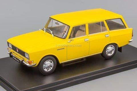 Moskvich-2137 yellow 1:24 Legendary Soviet cars Hachette #75