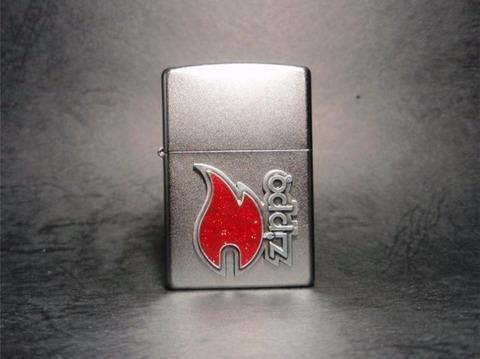 Зажигалка Zippo 28847 Red Flame с логотипом