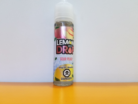 Sour Peach ICE by LEMON DROP 60ml