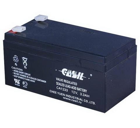 Аккумуляторы Casil CA1233 (12V, 3.3Ah)