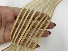 Резинка отделочная золотая 26 мм