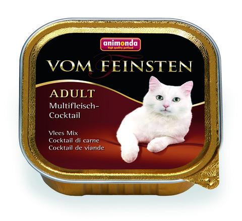 Консервы Animonda Vom Feinsten Adult коктейль из разных сортов мяса для взрослых кошек