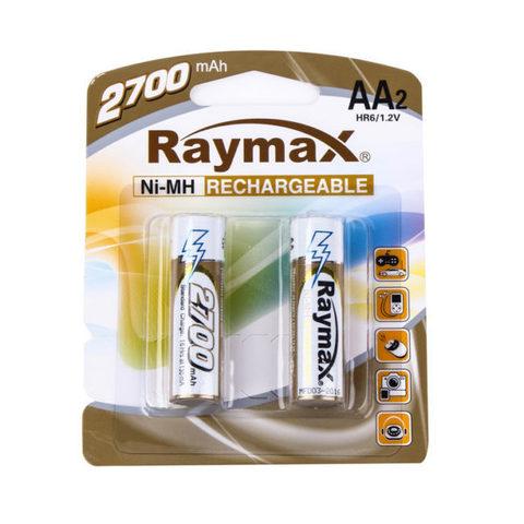 Аккумуляторы Raymax R6, AA 2700mAh (2/24)