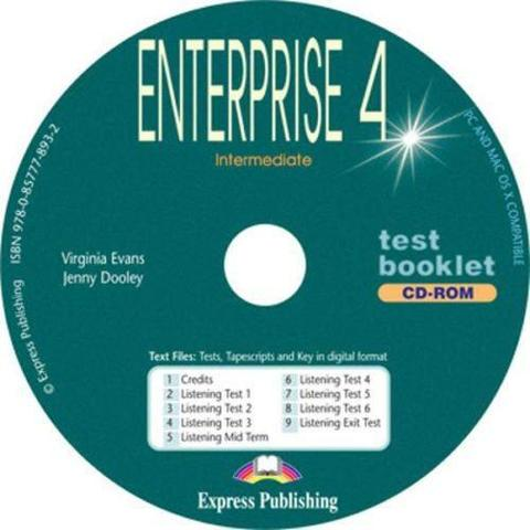 Enterprise 4.Test Booklet CD-ROM. Аудио CD-ROM (к тестовым заданиям)