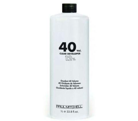 Paul Mitchell COLOR Clear Developer 40vol  Жидкий окислитель-проявитель 12% 1л