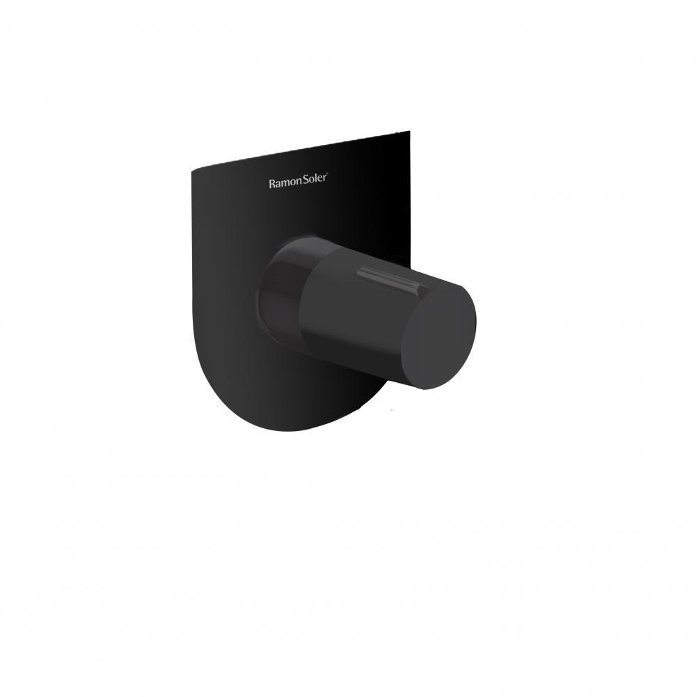 Встраиваемый смеситель для душа TZAR 341801SNM черный, на 1 выход