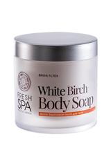 Белое берёзовое мыло для тела Bania Detox Natura Siberica