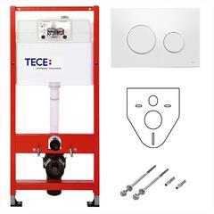 Инсталляция для унитаза с клавишей TECE TECEbase/TECEloop K400600 фото