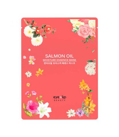 ENL Маска для лица тканевая SALMON OIL MOISTURE ESSENCE MASK 25мл
