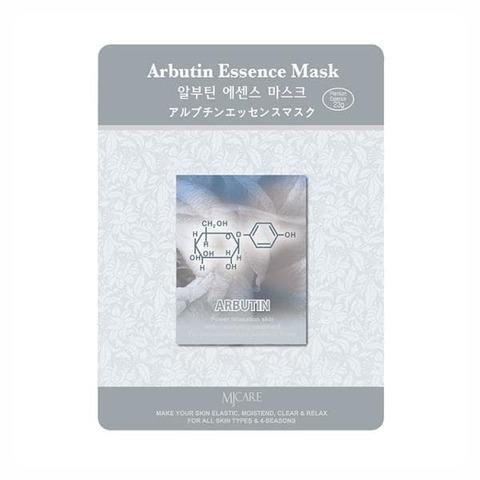 Mijin Essence Маска тканевая с арбутином Arbutin Essence Mask, 1 шт