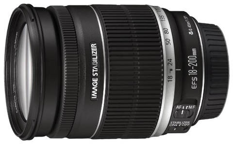 Объективы Canon EF-S 18-200mm f/3.5-5.6 IS