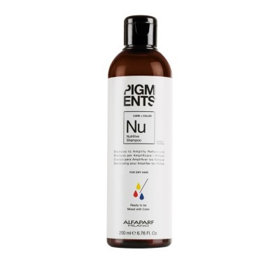 Alfaparf Milano Pigments: Питательный шампунь для волос (Nutritive Shampoo), 200мл