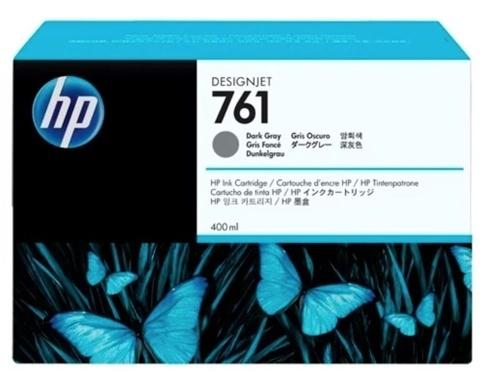 Оригинальный картридж струйный HP CM996A 761 темно-серый