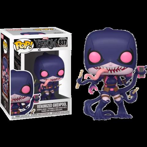 Фигурка Funko Pop! Marvel: Venom - Venomized Gwenpool (Excl. to GameStop)