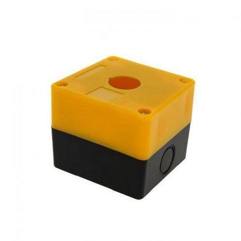Корпус КП101 для кнопок 1место желтый TDM