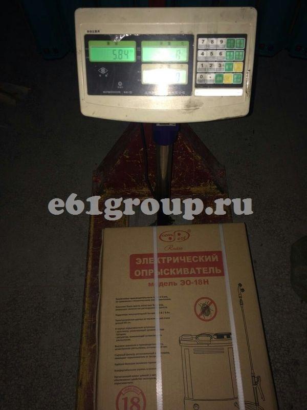 Опрыскиватель электрический ранцевый Комфорт Умница ЭО-18Н недорого