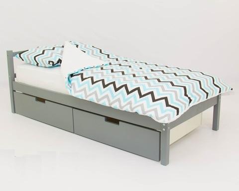 Кровать SKOGEN графит