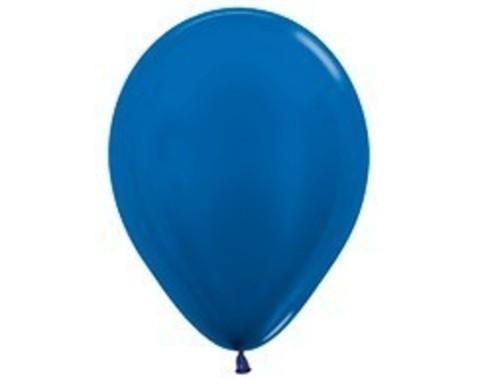 Шарики синие (металлик)