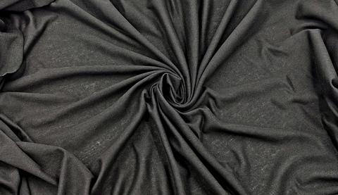 Кулирка (бельевая), хлопок (100% Х/Б), черная, (Арт: KT-170)