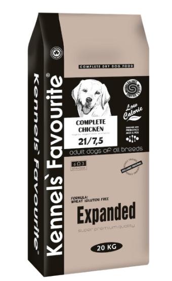 Сухой корм Корм для малоподвижных собак Kennels' Favourite Expanded контроль веса Expanded.png