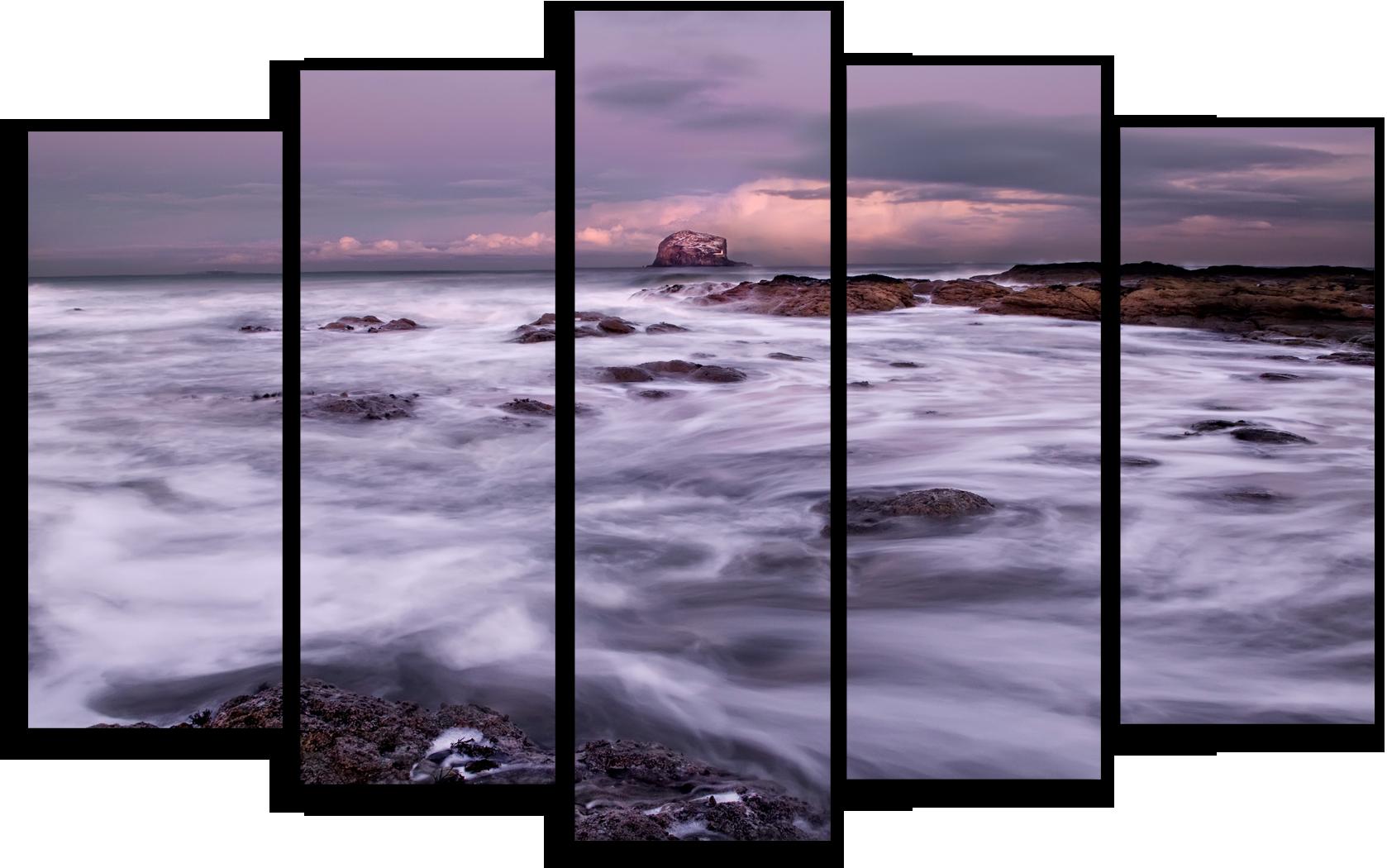 """Природа Модульная картина """"Спокойный океан"""" М413.png"""