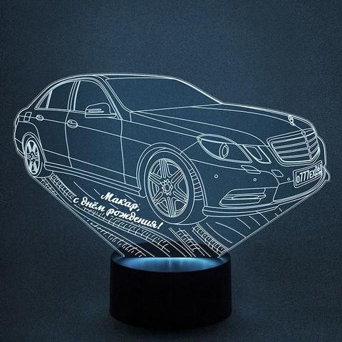 Автомобиль Mercedes-Benz E200 (Ваш текст)