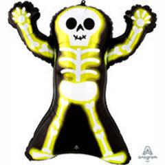 А Фигура Скелет неон 27
