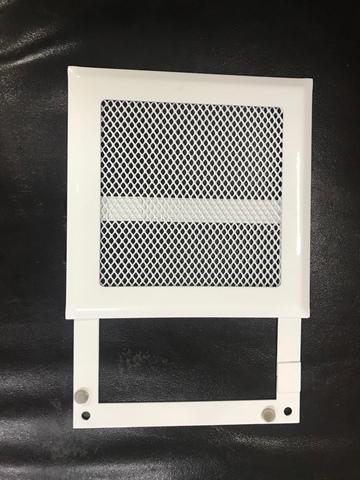 Решетка стальная на магнитах РП-200 сетка, белая
