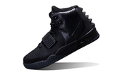 Кроссовки женские Nike Air Yeezy 2 All  Black by Kanye West