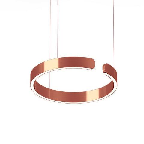Подвесной светильник копия Mito by Occio (розовое золото)